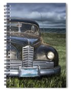 Vintage Auto On The Prairie Spiral Notebook