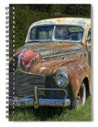 Vintage Automobile No.0488 Spiral Notebook