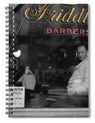 Vintage Barbershop 2 Spiral Notebook