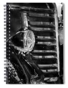 Vintage Car Grill Spiral Notebook