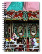 Vintage Circus Carousel - Merry-go-round Spiral Notebook
