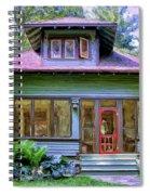 Vintage Craftsman Spiral Notebook
