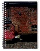 Vintage Distillery Truck Spiral Notebook