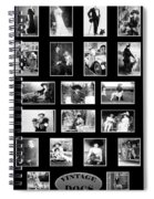 Vintage Dogs Spiral Notebook