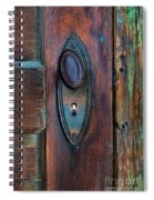 Vintage Door Knob Spiral Notebook