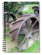 Vintage Farm Tractor Spiral Notebook