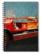 Vintage Fire Truck Spiral Notebook