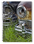 Vintage Frazer Auto Wreck Front Ends Spiral Notebook