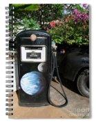 Vintage Gas Pump Spiral Notebook