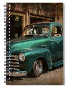 Vintage Green Dream Spiral Notebook