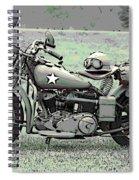 Vintage Iron Spiral Notebook