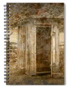 Vintage Looking Old Outhouse In The Great Smokey Mountains Spiral Notebook