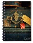 Vintage Luggage Spiral Notebook