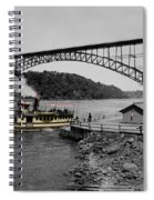 Vintage Maid Of The Mist Spiral Notebook
