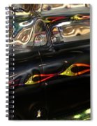 Vintage Metal Spiral Notebook
