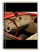 Vintage Packard Interior Spiral Notebook