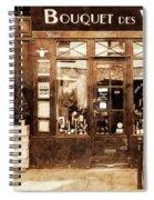 Vintage Paris 4 Spiral Notebook