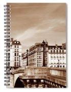 Vintage Paris 8 Spiral Notebook