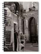 Vintage Paris1 Spiral Notebook