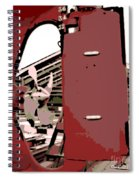 Vintage Prop Spiral Notebook