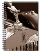 Vintage Rolls Royce 1 Spiral Notebook