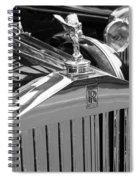 Vintage Rolls Royce 2 Spiral Notebook