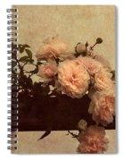 Vintage Roses Spiral Notebook