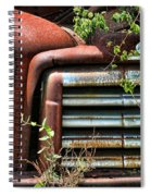 Vintage Rusty Dusty Gmc Graveyard Truck Spiral Notebook