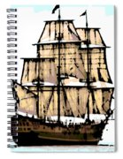 Vintage Sails Spiral Notebook