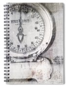 Vintage Scale 2 Spiral Notebook