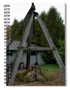 Vintage Stump Puller Spiral Notebook