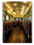 Vintage Trolley 7 Spiral Notebook