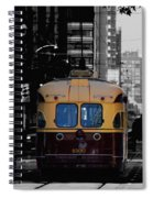 Vintage Trolley Spiral Notebook