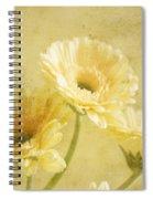 Vintage Vanilla Spiral Notebook
