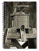 Vintage Water Pump Spiral Notebook