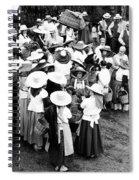 Vintage Workers Spiral Notebook