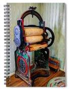 Vintage Wringer Spiral Notebook