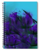 Violet Growth Spiral Notebook