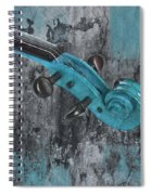 Violinelle - Turquoise 04d2 Spiral Notebook