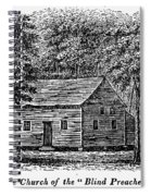 Virginia: Church Spiral Notebook