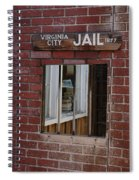 Virginia City Nevada Jail Spiral Notebook