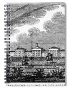 Virginia: College, 1856 Spiral Notebook