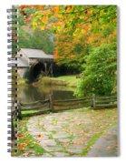 Virginia Fall Spiral Notebook
