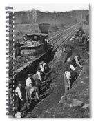 Virginia: Railroad, C1861 Spiral Notebook