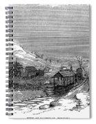 Virginia: Salt Mine, 1857 Spiral Notebook