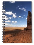 Visions Of Monument Valley  Spiral Notebook