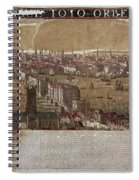 Visscher: London, 1650 Spiral Notebook