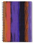 Visual Cadence Vii Spiral Notebook
