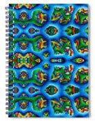 Vital Network I Design Spiral Notebook