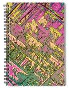 Vitamin B12 Crystal Spiral Notebook